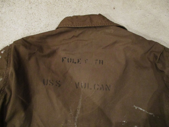 WWⅡ U.S.NAVY N-4 DECK JACKET ステンシル 雰囲気系_e0187362_19072558.jpg