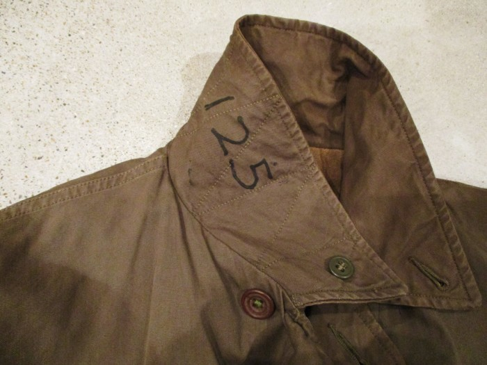 WWⅡ U.S.NAVY N-4 DECK JACKET ステンシル 雰囲気系_e0187362_19092305.jpg