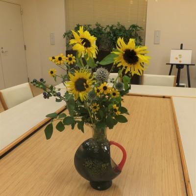 オークリーフ(絵画教室の花2)_f0049672_16360655.jpg