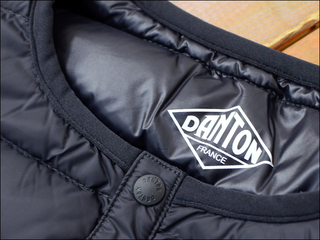 DANTON [ダントン] M/INNER DOWN VEST CREW ダウンベスト[JD-8752] インナーダウン・インナーダウンベスト・アウター・メンズ・男性用・紳士・MEN\'S_f0051306_14445715.jpg