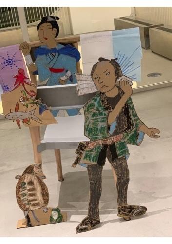 『28周年:吉祥寺わんぱくアトリエ展』江戸時代にタイムスリップしてみよう..._e0167716_15365712.jpg