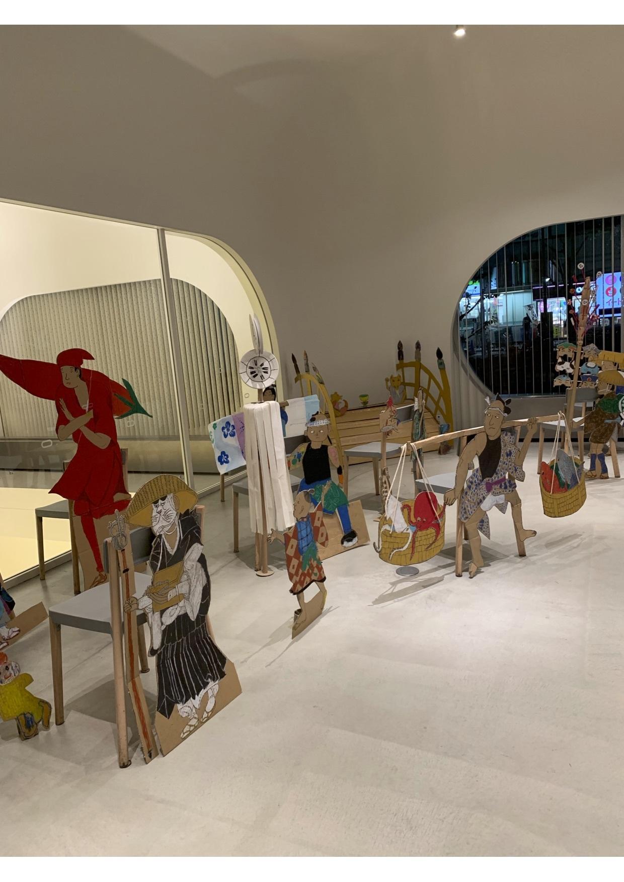『28周年:吉祥寺わんぱくアトリエ展』江戸時代にタイムスリップしてみよう..._e0167716_15373509.jpg