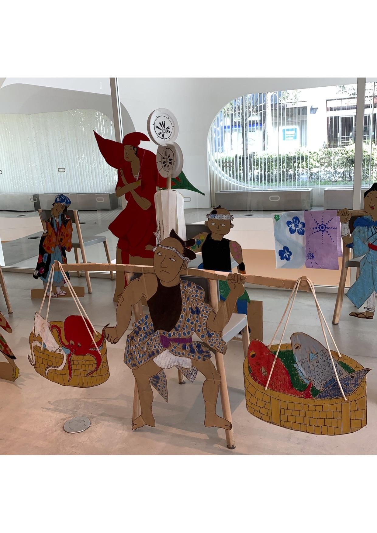 『28周年:吉祥寺わんぱくアトリエ展』江戸時代にタイムスリップしてみよう..._e0167716_15435509.jpg
