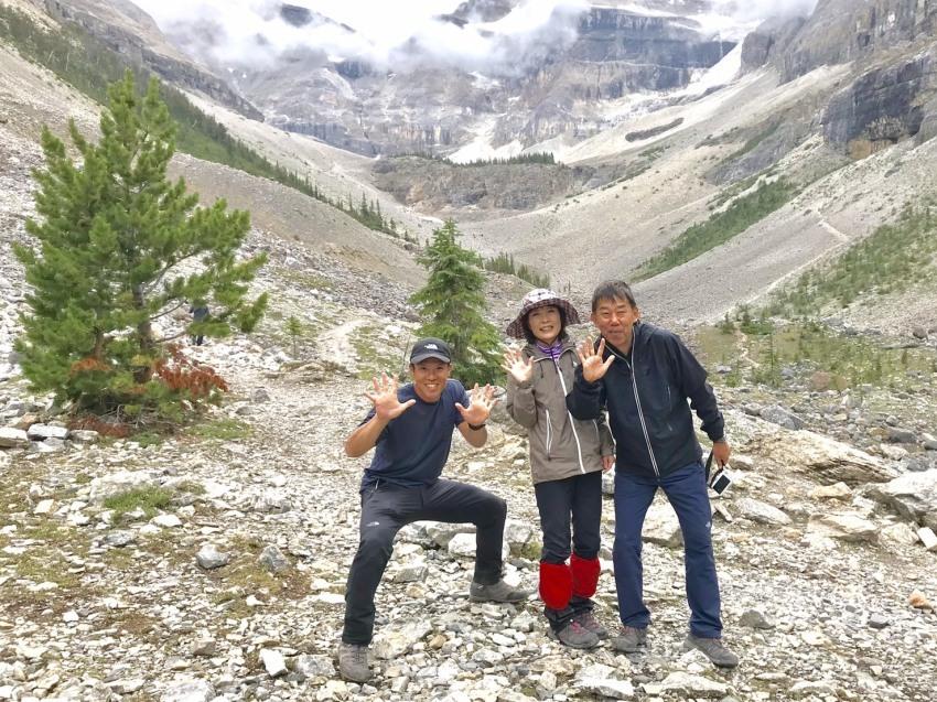 出会いの山旅!坂井夫妻と行く5日間のロッキーハイキング_d0112928_12373000.jpg