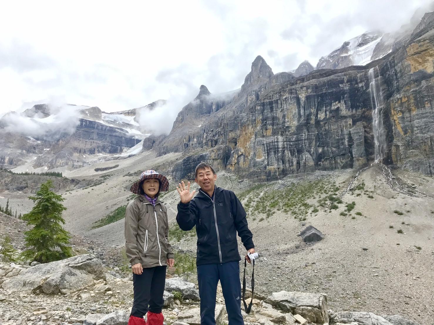 出会いの山旅!坂井夫妻と行く5日間のロッキーハイキング_d0112928_12373125.jpg