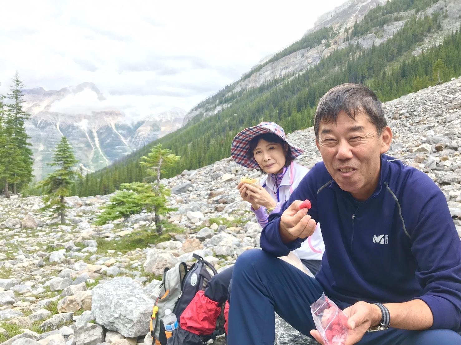 出会いの山旅!坂井夫妻と行く5日間のロッキーハイキング_d0112928_12374194.jpg