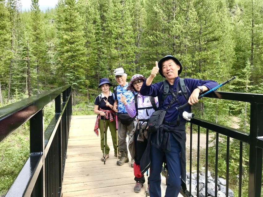 出会いの山旅!坂井夫妻と行く5日間のロッキーハイキング_d0112928_12374262.jpg