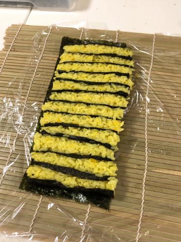 夏のお弁当対策 酢飯で飾りずし_b0048834_09384768.jpg