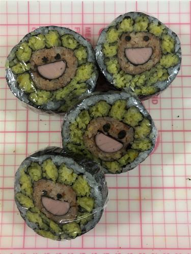 夏のお弁当対策 酢飯で飾りずし_b0048834_09385048.jpg