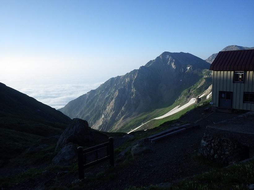 北ア遠征・・・白馬岳③_e0164643_13553219.jpg