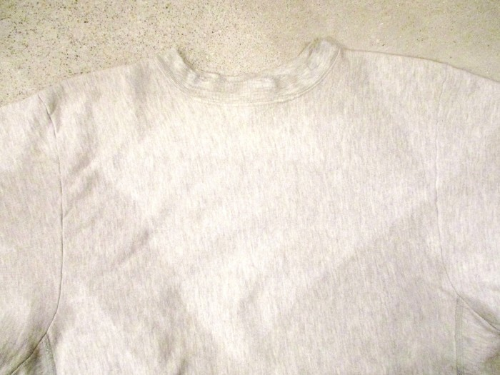 Early80\'s Champion Reverse Weave Solid Gray 無地 目無し チャンピオン リバース_e0187362_18263294.jpg