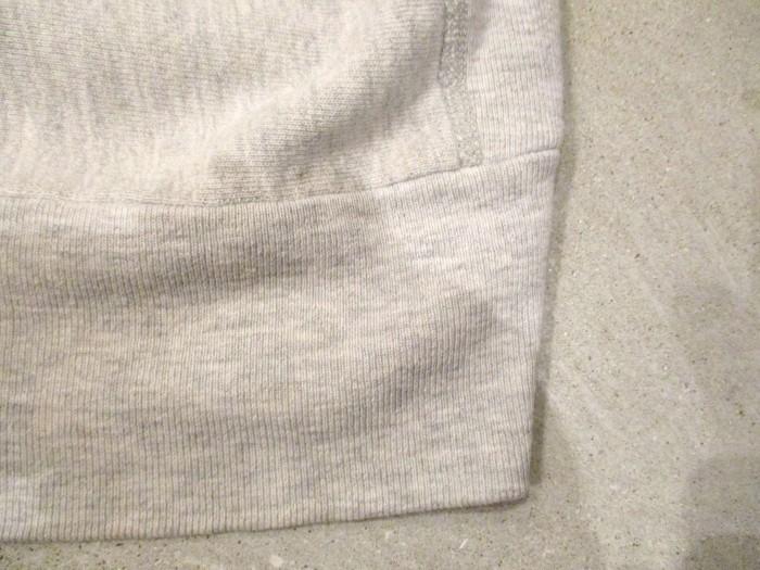 Early80\'s Champion Reverse Weave Solid Gray 無地 目無し チャンピオン リバース_e0187362_18331056.jpg
