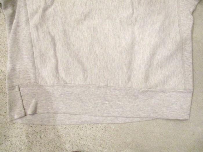 Early80\'s Champion Reverse Weave Solid Gray 無地 目無し チャンピオン リバース_e0187362_18351243.jpg