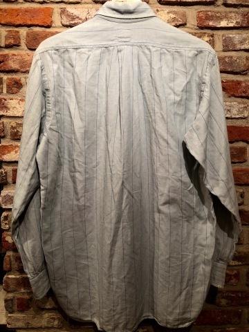 "1950-60s \"" EAGLE - SHIRT MAKERS - \"" ALL cotton VINTAGE - マチ付き - Chalk STRIPE SHIRTS ._d0172088_19240075.jpg"