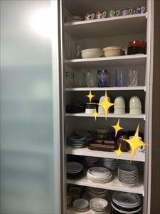 調理台の上に、何も載っていない!! 「自分との約束にしているの♡」_a0239890_20204057.jpg