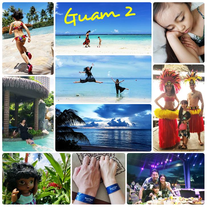 Guam*2(Dushi Thaniのプール&カバナ、ビーチ、ショー)_d0224894_03555763.jpg