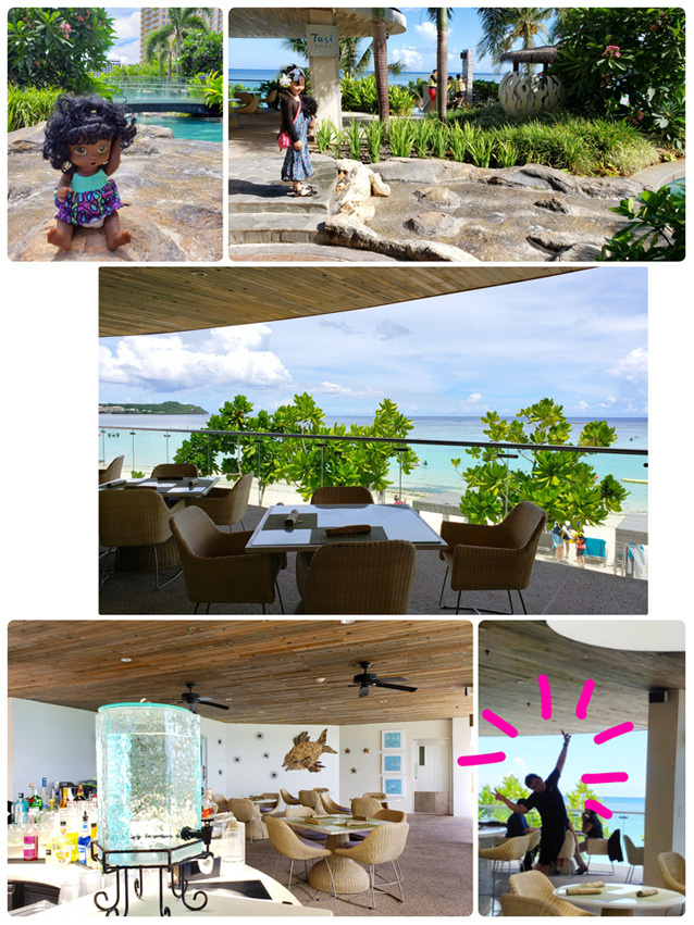 Guam*2(Dushi Thaniのプール&カバナ、ビーチ、ショー)_d0224894_03594233.jpg