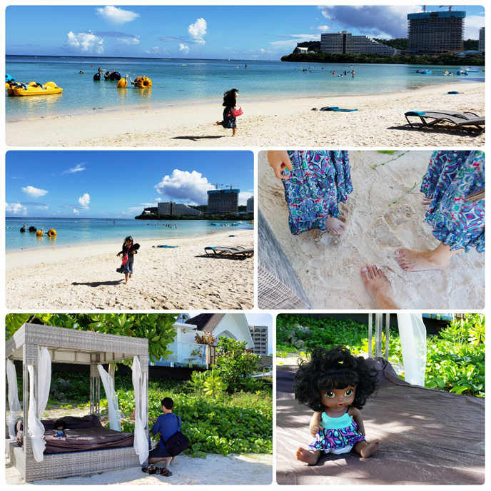 Guam*2(Dushi Thaniのプール&カバナ、ビーチ、ショー)_d0224894_03594591.jpg