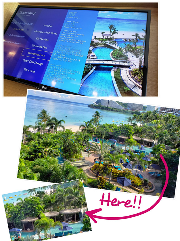 Guam*2(Dushi Thaniのプール&カバナ、ビーチ、ショー)_d0224894_04125014.jpg