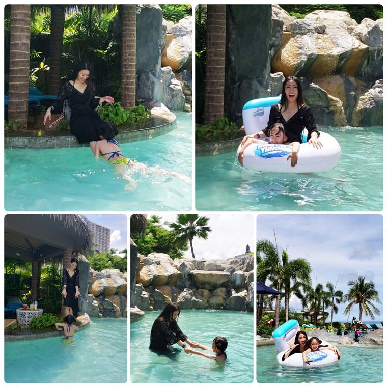 Guam*2(Dushi Thaniのプール&カバナ、ビーチ、ショー)_d0224894_04454455.jpg