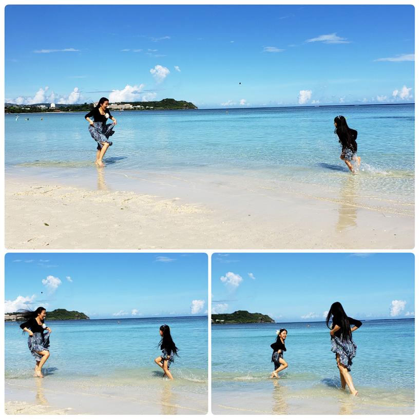 Guam*2(Dushi Thaniのプール&カバナ、ビーチ、ショー)_d0224894_05223458.jpg