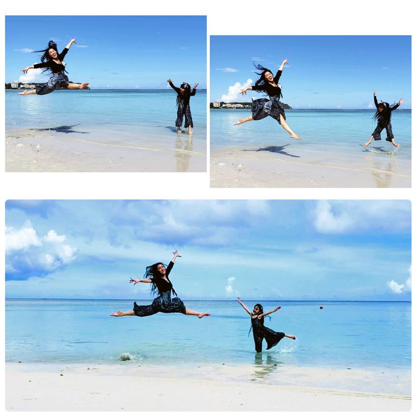 Guam*2(Dushi Thaniのプール&カバナ、ビーチ、ショー)_d0224894_05271455.jpg