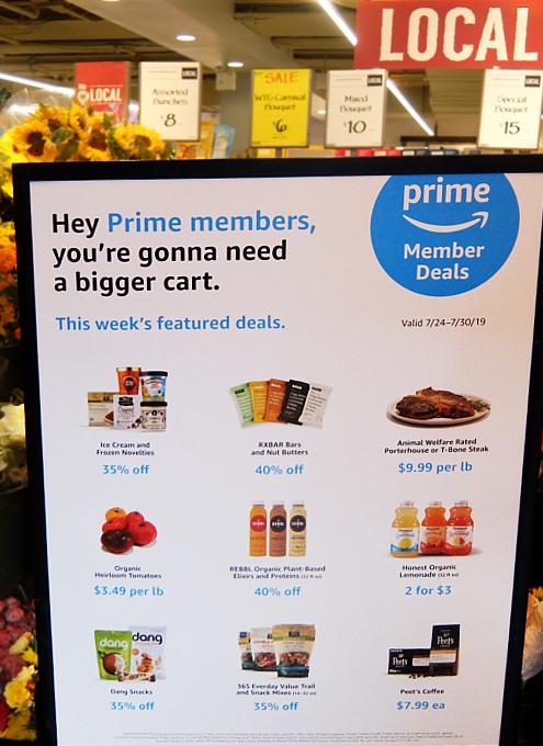 Amazonの大規模セールと連動してスーパーのWhole Foodsでもセール_b0007805_09255258.jpg