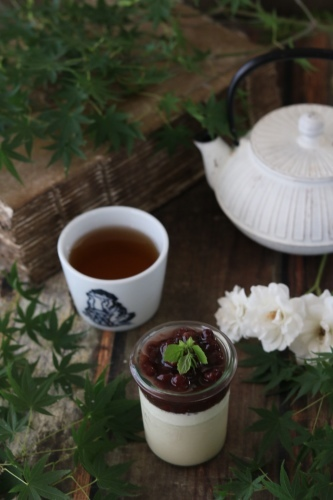 ほうじ茶ミルクプリン_c0366722_19121316.jpeg