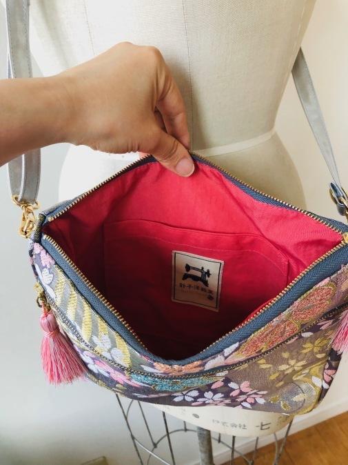 着物リメイク・帯からbagにリメイク_d0127925_10580285.jpg