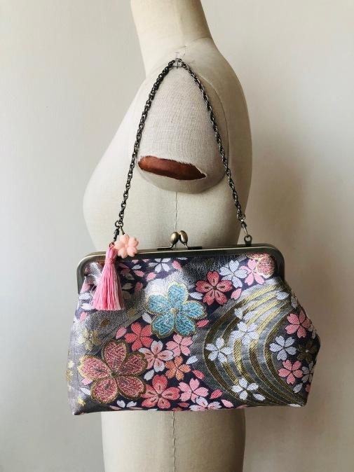 着物リメイク・帯からbagにリメイク_d0127925_10580927.jpg