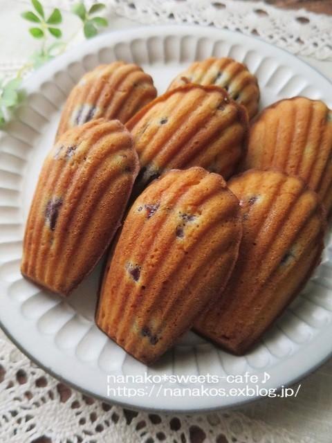 焼き菓子*マドレーヌ_d0147030_19523262.jpg