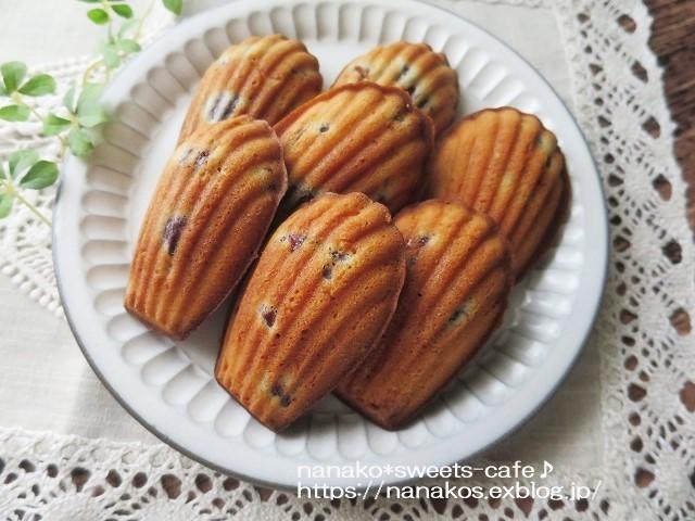 焼き菓子*マドレーヌ_d0147030_19523733.jpg