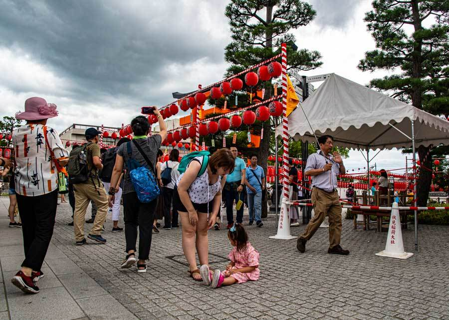 伏見稲荷の本宮祭 ①_e0360431_13391483.jpg