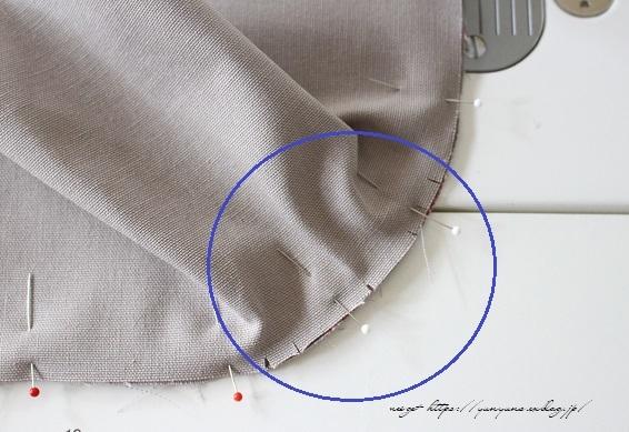 側面のカーブをミシンで綺麗に縫い仕上げる方法(縫い方のポイントレッスン)_f0023333_23130202.jpg