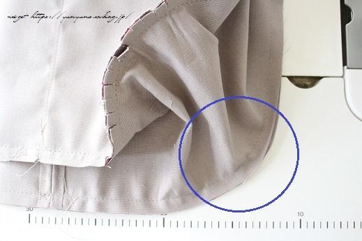 側面のカーブをミシンで綺麗に縫い仕上げる方法(縫い方のポイントレッスン)_f0023333_23342125.jpg