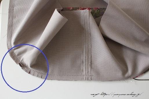 側面のカーブをミシンで綺麗に縫い仕上げる方法(縫い方のポイントレッスン)_f0023333_23342166.jpg