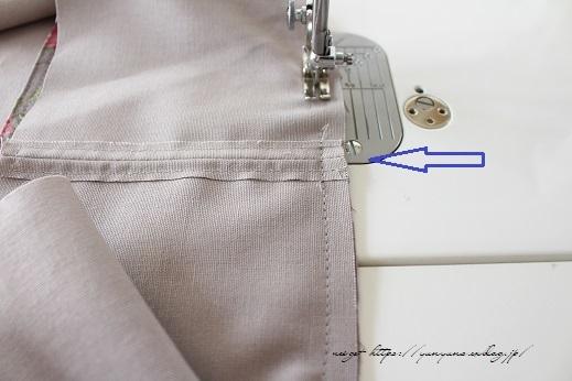 側面のカーブをミシンで綺麗に縫い仕上げる方法(縫い方のポイントレッスン)_f0023333_23342266.jpg