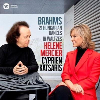 Brahms: 21Hungarian Dances & 16Waltzes@C.Katsaris,H.Mercier_a0384046_11021104.jpg