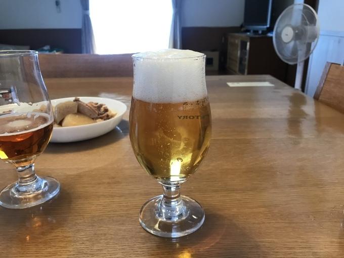 日本の夏はビールと冷やしうどん_b0100062_18412303.jpeg