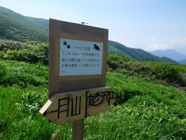夏の月山 雪渓を越えて_a0351368_13260629.jpg