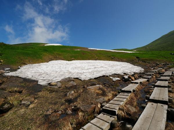 夏の月山 雪渓を越えて_a0351368_23283344.jpg