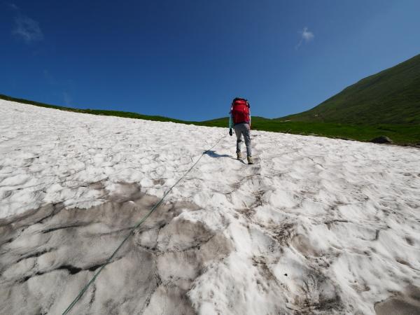 夏の月山 雪渓を越えて_a0351368_23292944.jpg