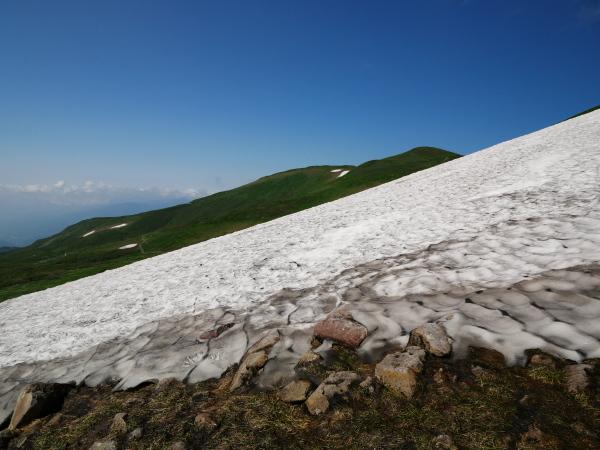 夏の月山 雪渓を越えて_a0351368_23312019.jpg