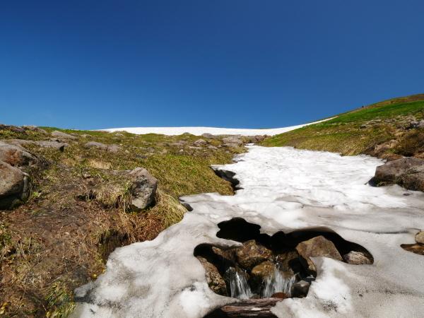 夏の月山 雪渓を越えて_a0351368_23334610.jpg