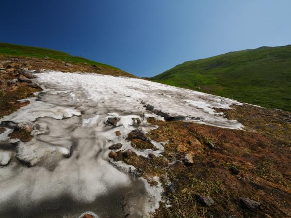 夏の月山 雪渓を越えて_a0351368_23354357.jpg