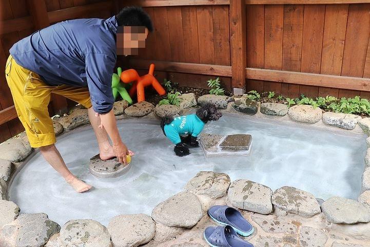 ⑬ホテル凜香富士山中湖でわんこの温泉体験。_b0111376_16353371.jpg