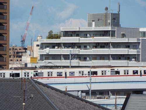 屋上から富士を見たこと_f0211178_10015531.jpg