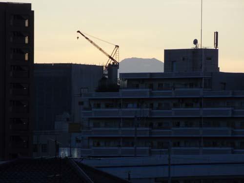 屋上から富士を見たこと_f0211178_10022642.jpg