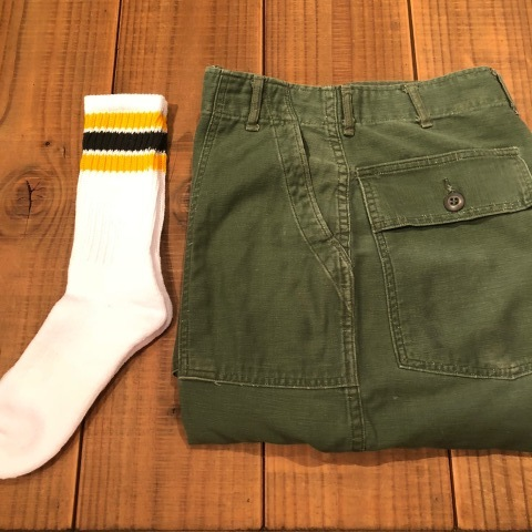 "1970 "" U.S ARMY \"" 100% cotton SATEEN - OG 107 - VINTAGE BAKER PANTS ._d0172088_15164319.jpg"