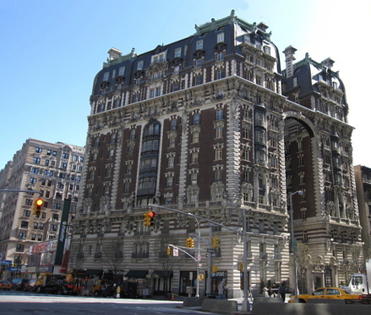 NY屈指の美建築、ボザール様式の高級住宅コープ、ザ・ドリルトン (The Dorilton、1902年竣工)_b0007805_01472020.jpg